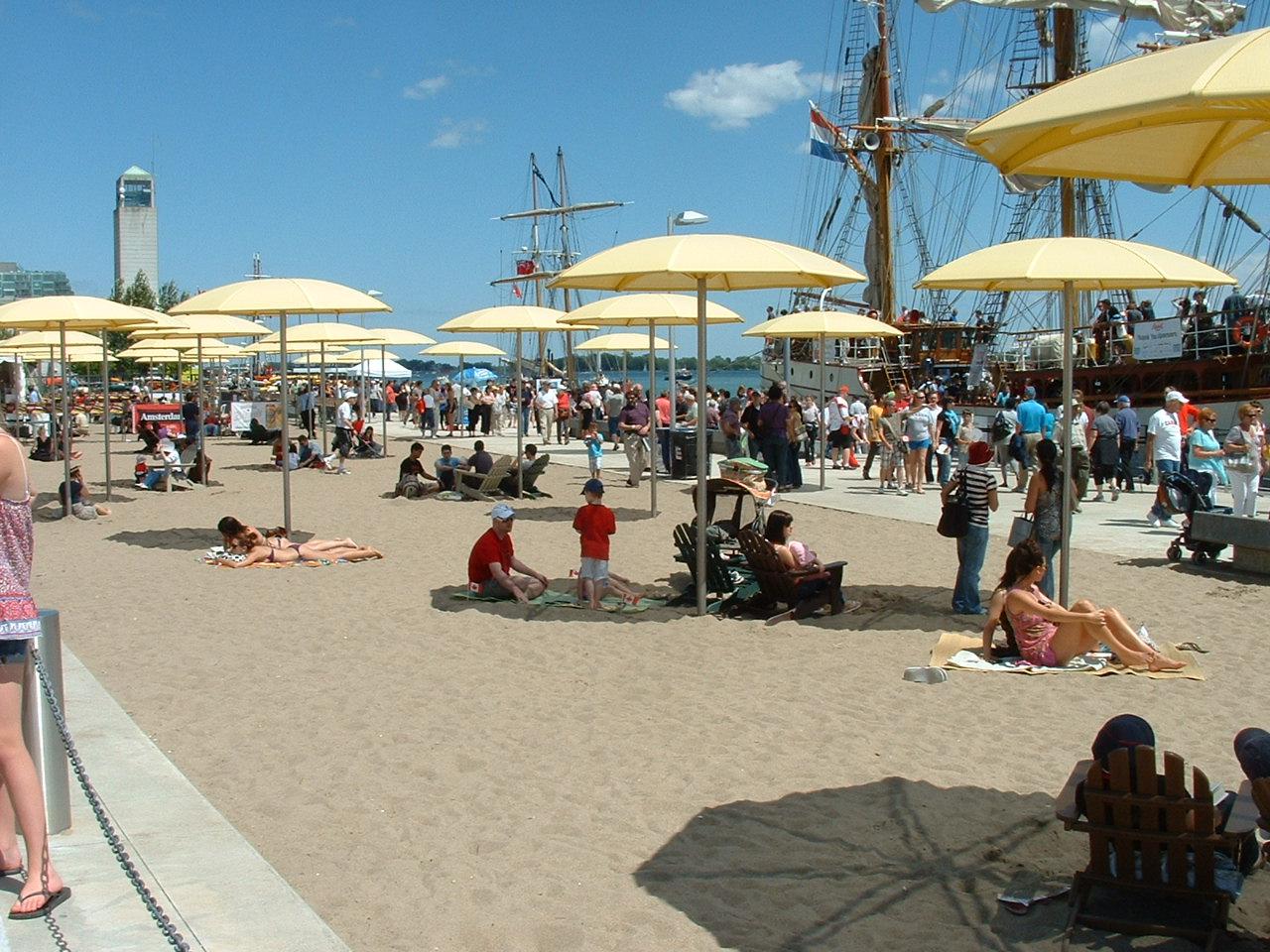 Harbourfront Toronto Beach