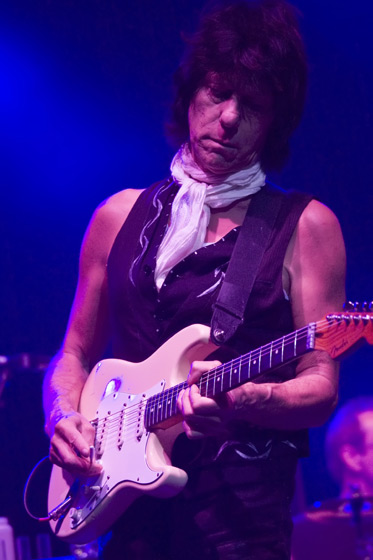 Guitarist Jeff Beck by Mandy Hall