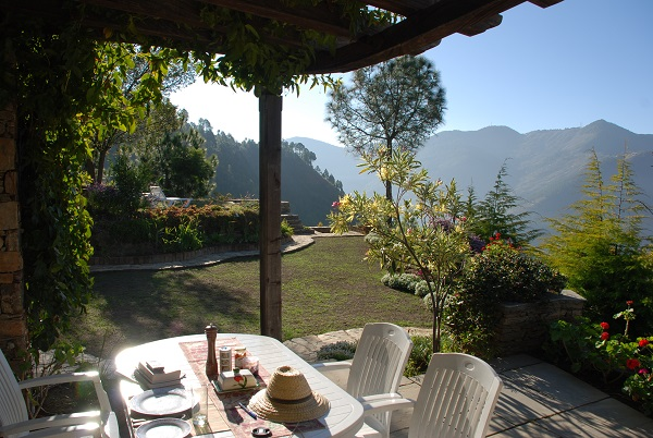Villa Overlooking Himalayans, India