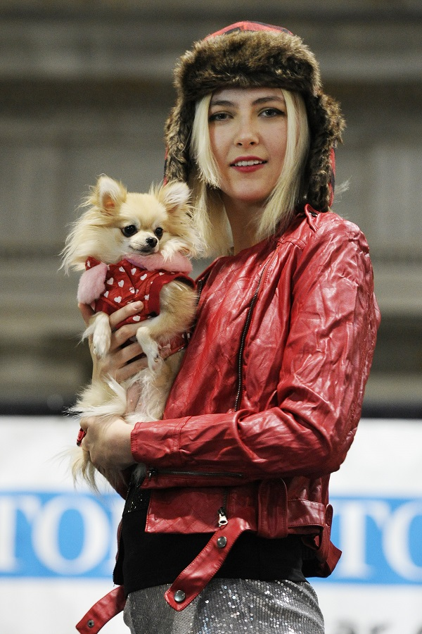 Fashion Show at Winter Woofstock