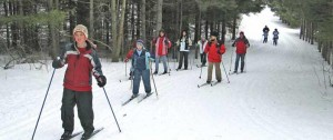 Skiing at Albion Hills Conservation Area
