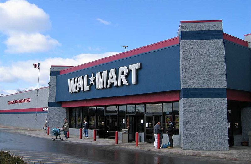 Walmart, photo by Jared C. Benedict