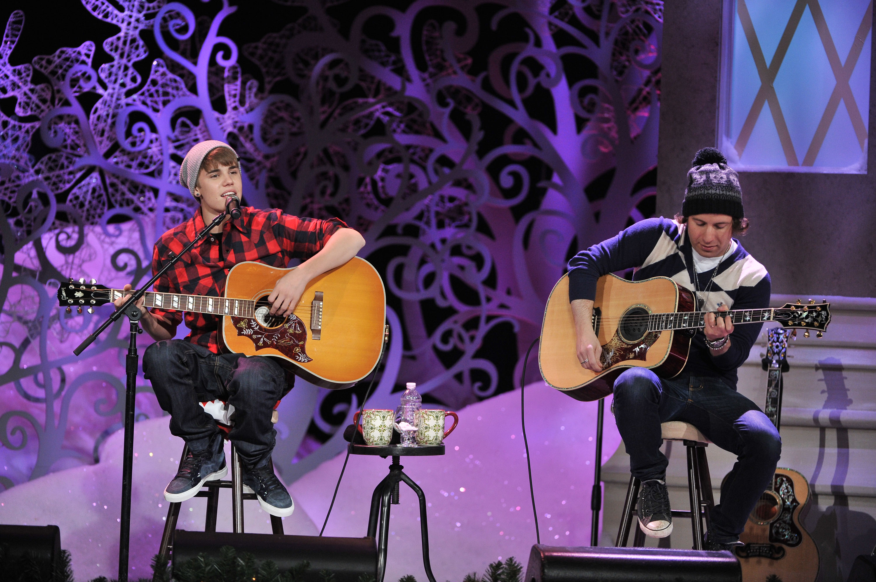 Justin Bieber, photo courtesy MuchMusic, George Pimentel for WireImage