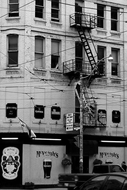 McVeigh's Pub in Toronto, photo by John Vetterli