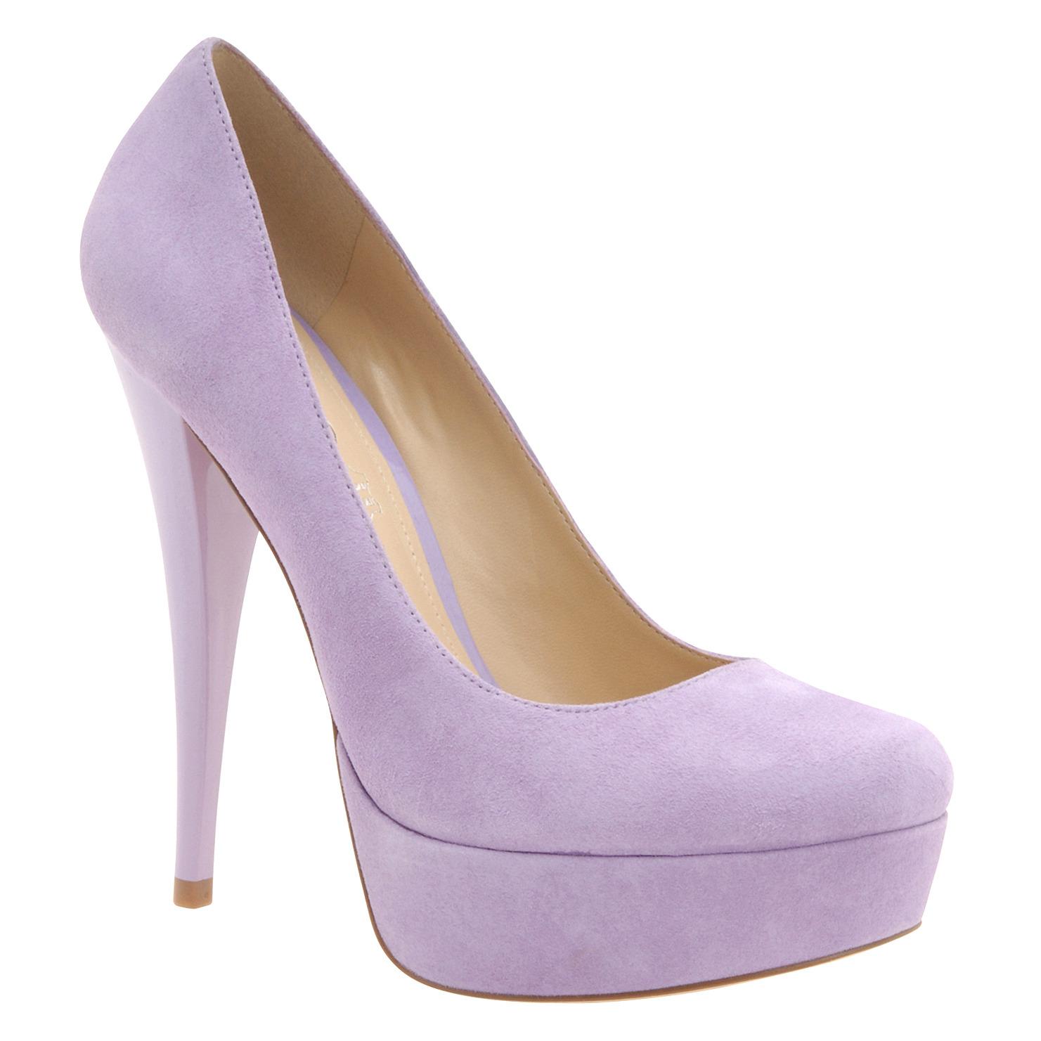 Lilac Shurkus at Aldo Shoes, $90
