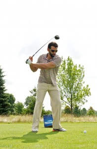 Jose Bautista at Blue Jays Golf Classic, photo Michelle Prata