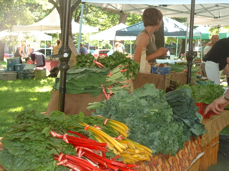 Organic Vegetables at Trinity Bellwoods Farmers' Market