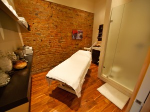 Treatment Room at Laya Spa and Yoga, photo Ryan Emberley