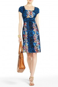 BCBG Kasey Keyhole Dress, $198