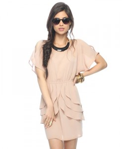 Forever 21 Asymmetrial Ruffle Dress, $22.80