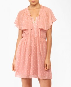 Forever 21 Flowered Ditsy Bow Dress, $24.80