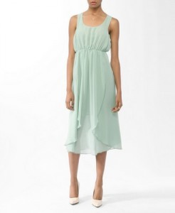Forever 21 Layered Chiffon Dress, $24.80