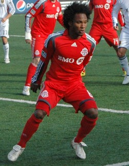 Toronto FC Vice-Captain Julien de Guzman, photo by Razcle