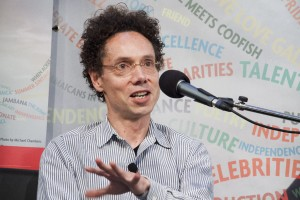 Malcolm Gladwell at Toronto Reference Library, photo Toronto Public Library