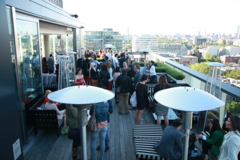 Thompson Toronto Rooftop Opening Party, photo Clarissa Magalhaes