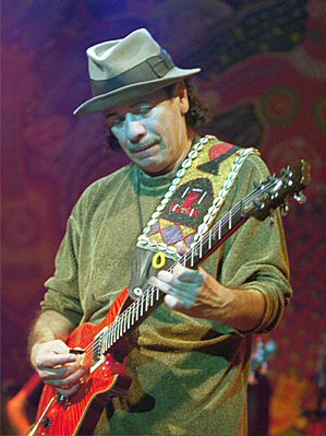 Carlos Santana, photo by Jaud