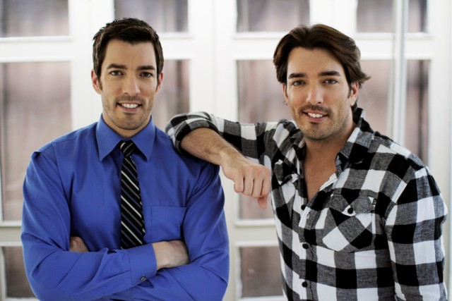 The Property Brothers, Drew and Jonathan Scott