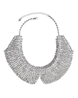 Crystal Rhinestone Collar Necklace from Juicy Couture, $148