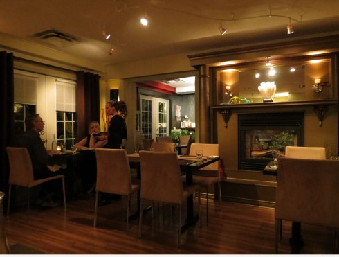 Interior of Blumen Garden Bistro, Picton