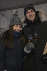 Enjoying Niagara Icewine Festival in St. Catharines, photo Brain Farm