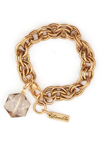 Briah charm bracelet by Lauren Elan, $80