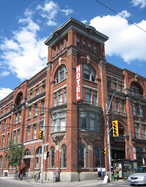 The Gladstone Hotel in Toronto, photo SimonP