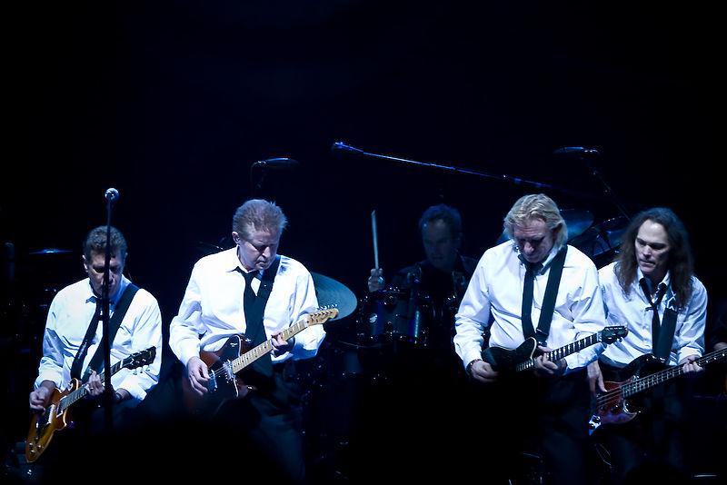 Eagles rock band, photo Steve Alexander