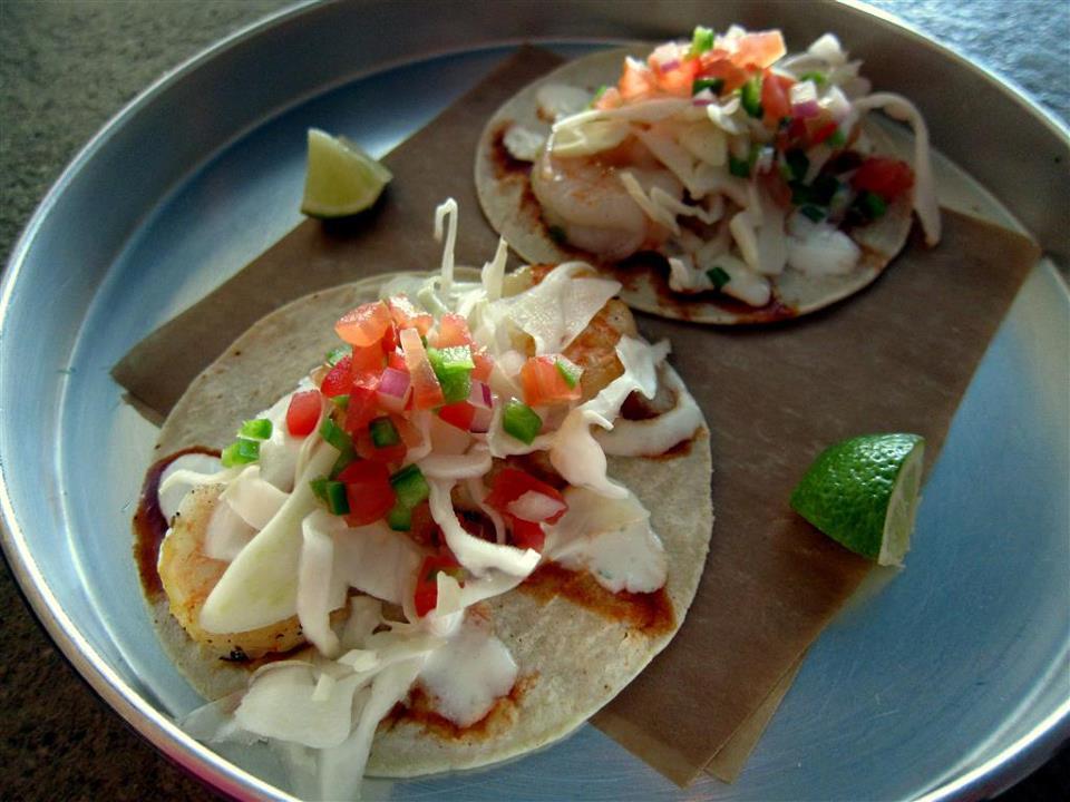 Fish Tacos from Happy Hooker Restaurant, Toronto