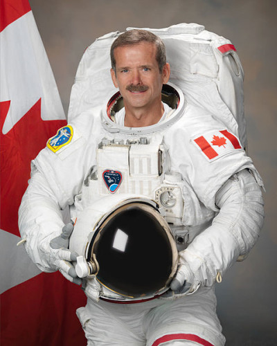 Colonel Chris Hadfiel, photo Robert Markowitz, NASA