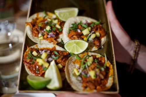 Tacos at El Catrin Restaurant, photo Ryan Emberley