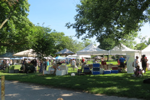 Withrow Farmers' Market at 725 Logan Avenue