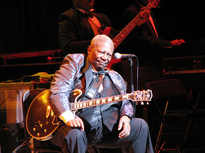 Blues legend B.B. King, photo Kasra Ganjavi