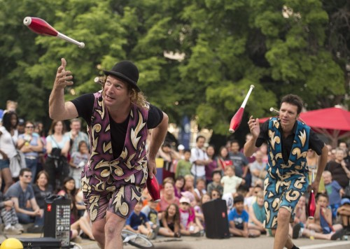The Flying Dutchmen at Scotiabank Buskerfest, photo Marc Chalifoux for EPIC Photography