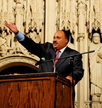 Martin Luther King III, photo Nesnad