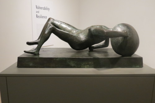 Falling Warrior 1956-1957 Bronze by Henry Moore
