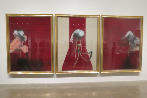 Second Version of Triptych 1944, 1988, oil and acrylic on canvas by Francis Bacon