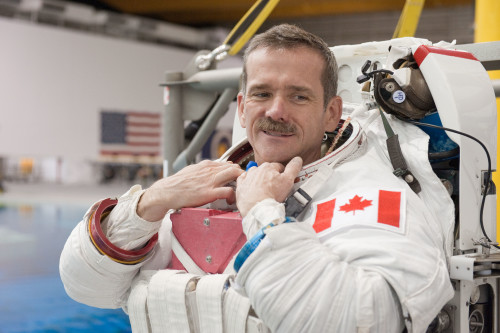 Chris Hadfield to appear at Exposure Photography Event, photo credit James Blair