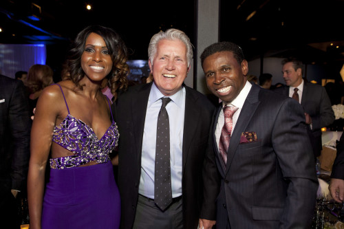 Diane Clemons, Martin Sheen, Michael Clemons at We U Night Gala, photo Michael Rajzman/Free The Children
