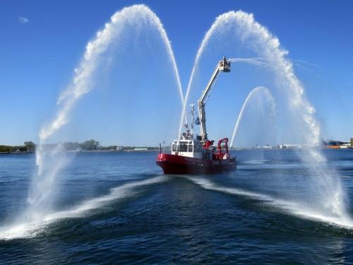 William Lyon Mackenzie Fire Boat, credit Peter Ashworth