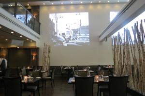 Interior of The Forth Restaurant, Toronto