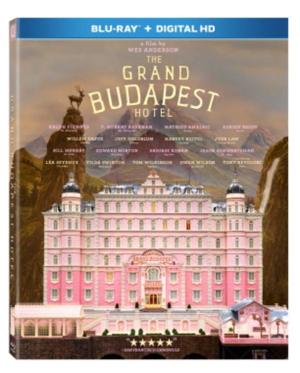 The Grand Budapest Hotel on Blu-ray