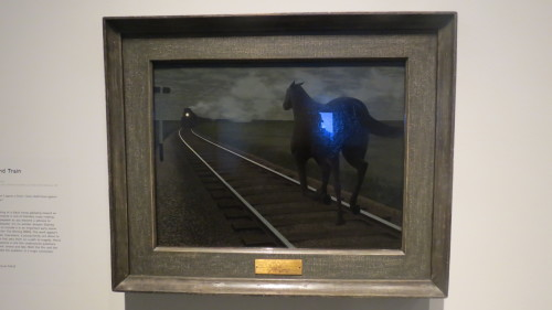 Horse and Train by Alex Colville