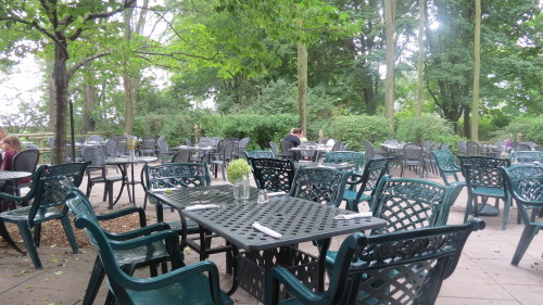 Rectory Cafe Patio at Ward's Island