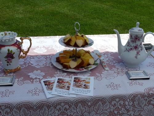 Tea Celebration outdoors