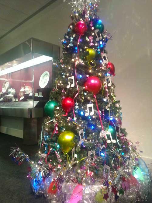 Mirvish Village Christmas Tree