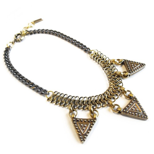 Tryan Necklace, $195 by Corrine Anestopoulos Biko