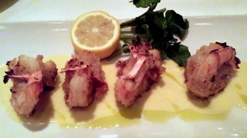 Jumbo Shrimp Alexander at Morton's Steakhouse Toronto