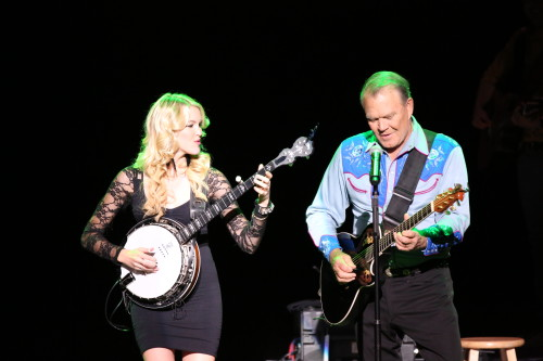 Ashley Campbell and Glen Campbell