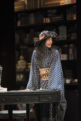 Harveen Sandhu as Eliza Doolittle in Pygmalion, photo Emily Cooper