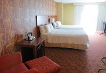 Room with 2 Queen beds at Courtyard Marriott Niagara Falls